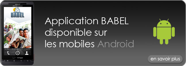 Babel sur Android