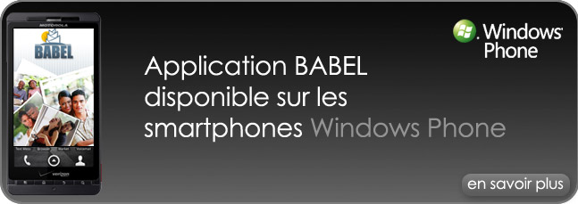 Babel sur ton Windows Phone